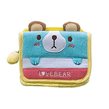 Amor de oso] Cartera Monedero (4,5 * 3,5): Amazon.es ...