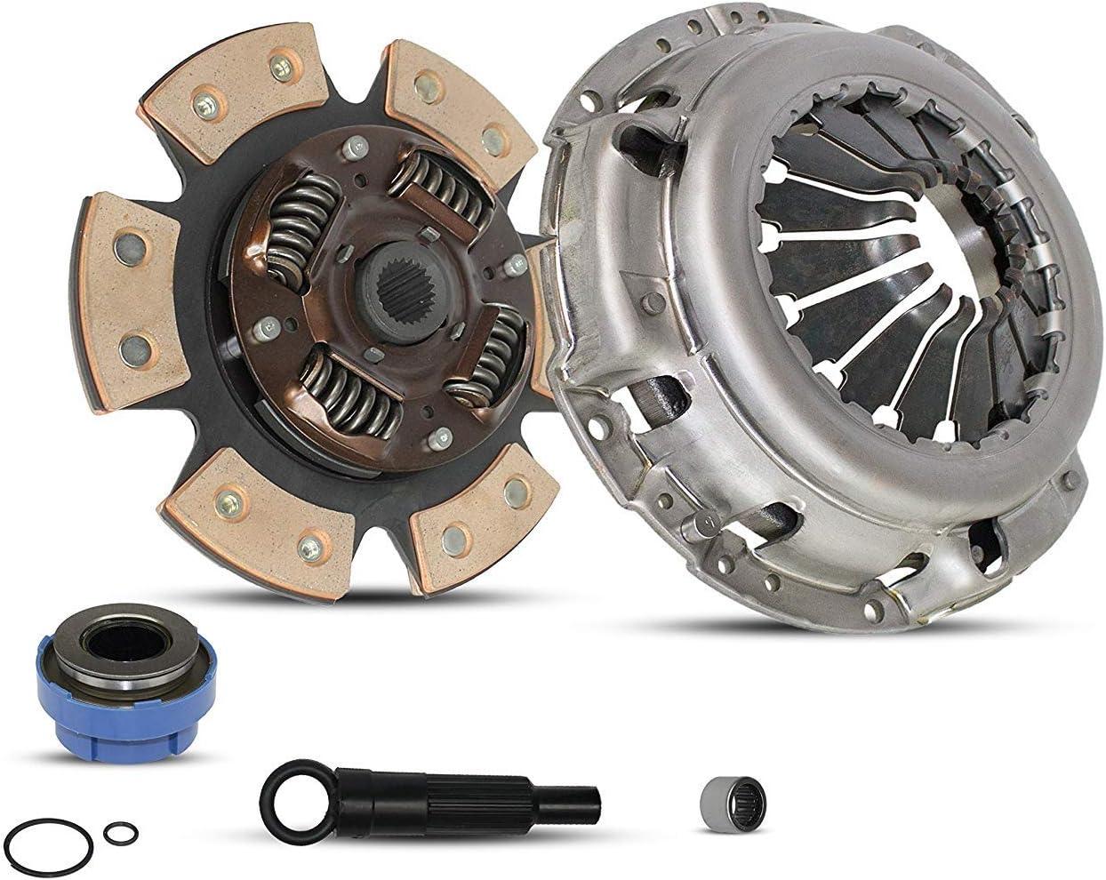 Clutch And Slave Kit Works With Ford Ranger Mazda B2300 B2500 B3000 Bse Xl Xlt Limited Sport Stx Ds 1995-2011 2.3L L4 Gas Dohc 2.5L Gas Sohc L4 3.0L V6 Gas Ovh Self-Adjusting Clutch Cover