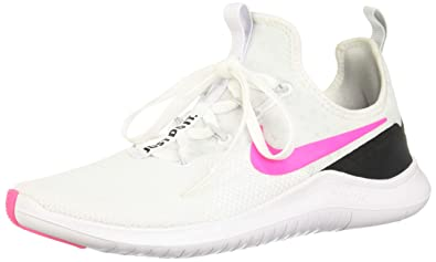7ab8febbb29d Nike Women s s WMNS Free Tr 8 Low-Top Sneakers Multicolour (White Pink Blast