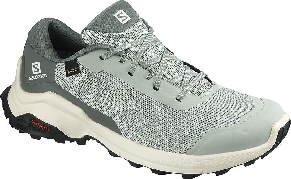 Salomon X Reveal GTX W, Zapatillas de Trail Running para Mujer, Gris (Aqua Gray/Balsam Green/Green Gables), 36 EU: Amazon.es: Zapatos y complementos