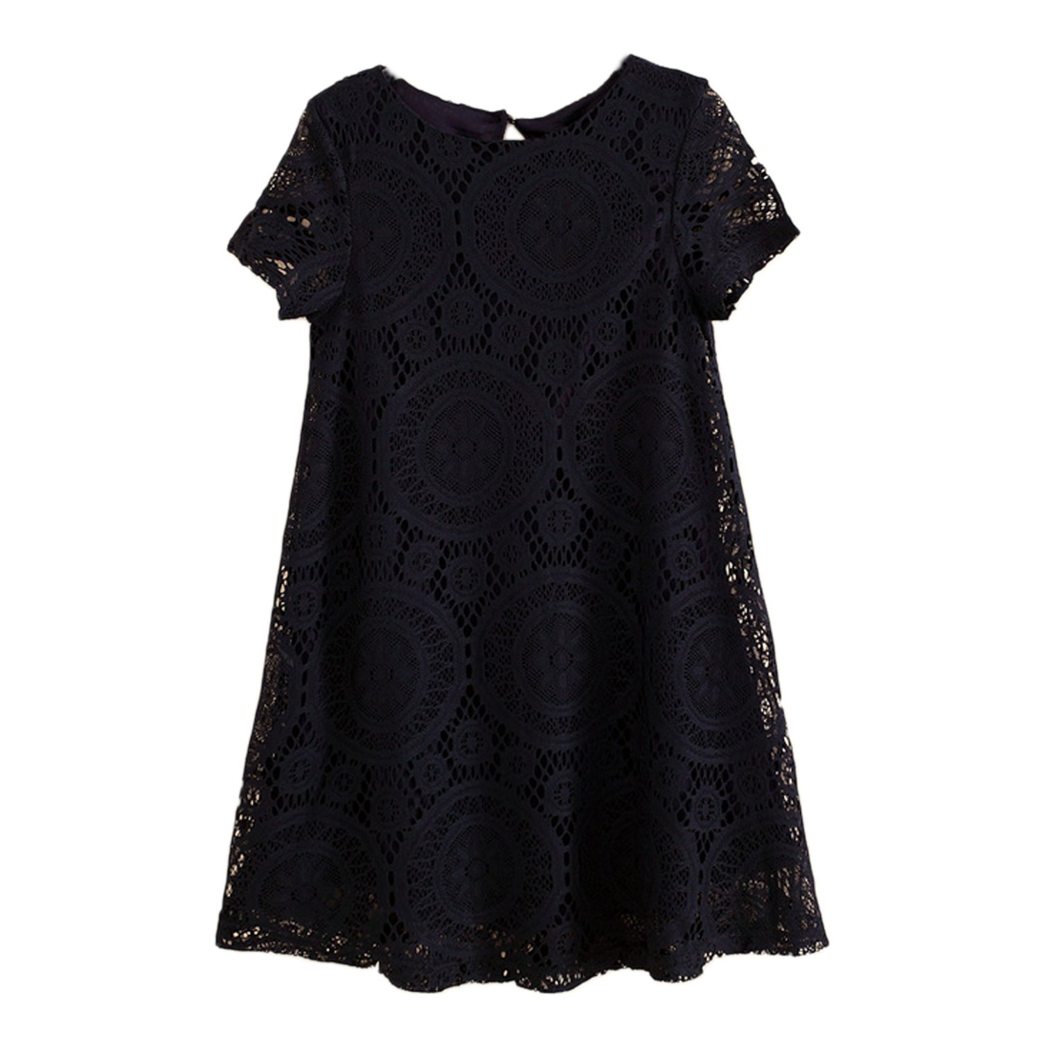 Nonbrand Womens Lace Dress Winter Party Prom Vintage Ladies Crochet Dresses: Amazon.co.uk: Clothing