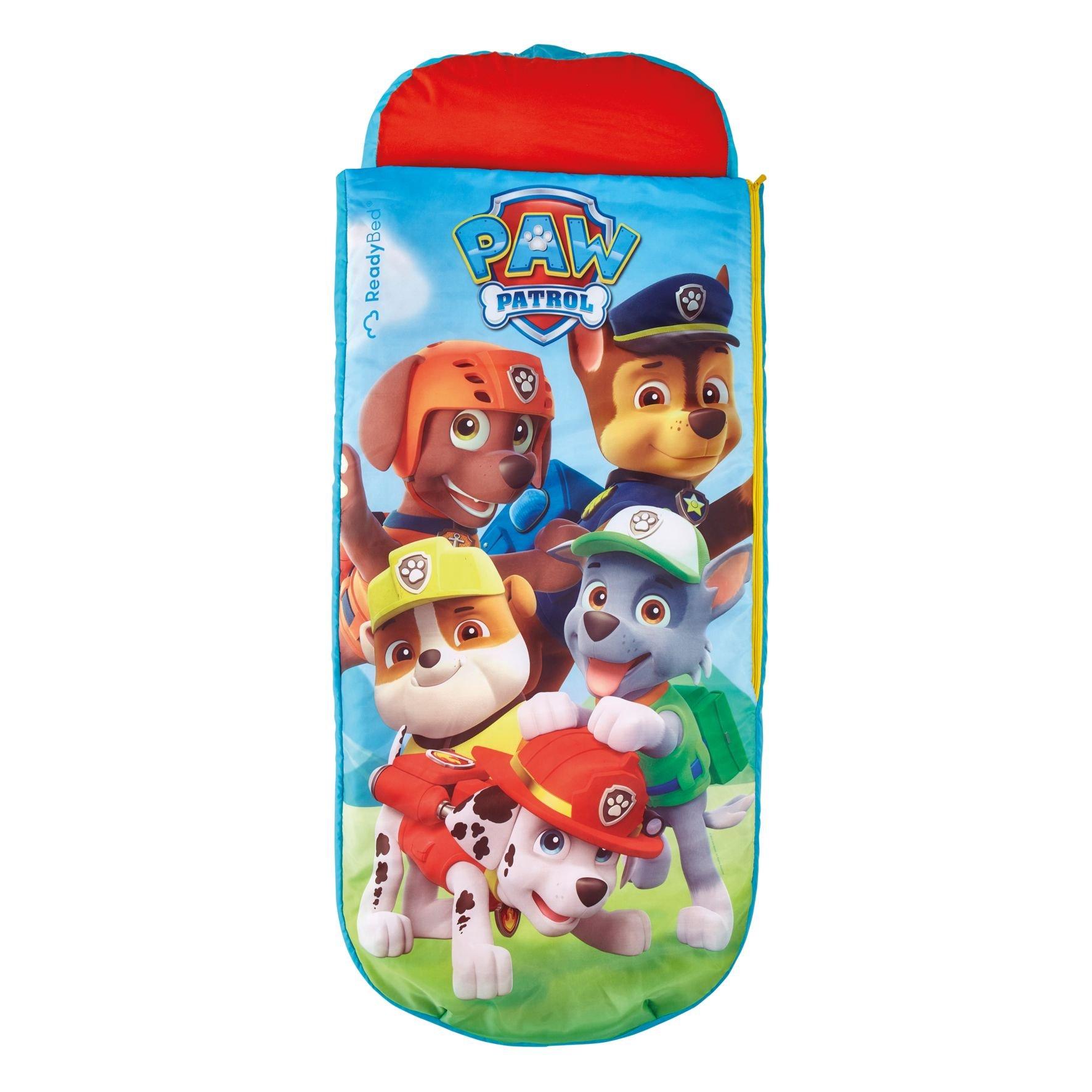 Readybed La Patrulla Canina júnior - Cama Hinchable y Saco de Dormir Infantil Dos en uno