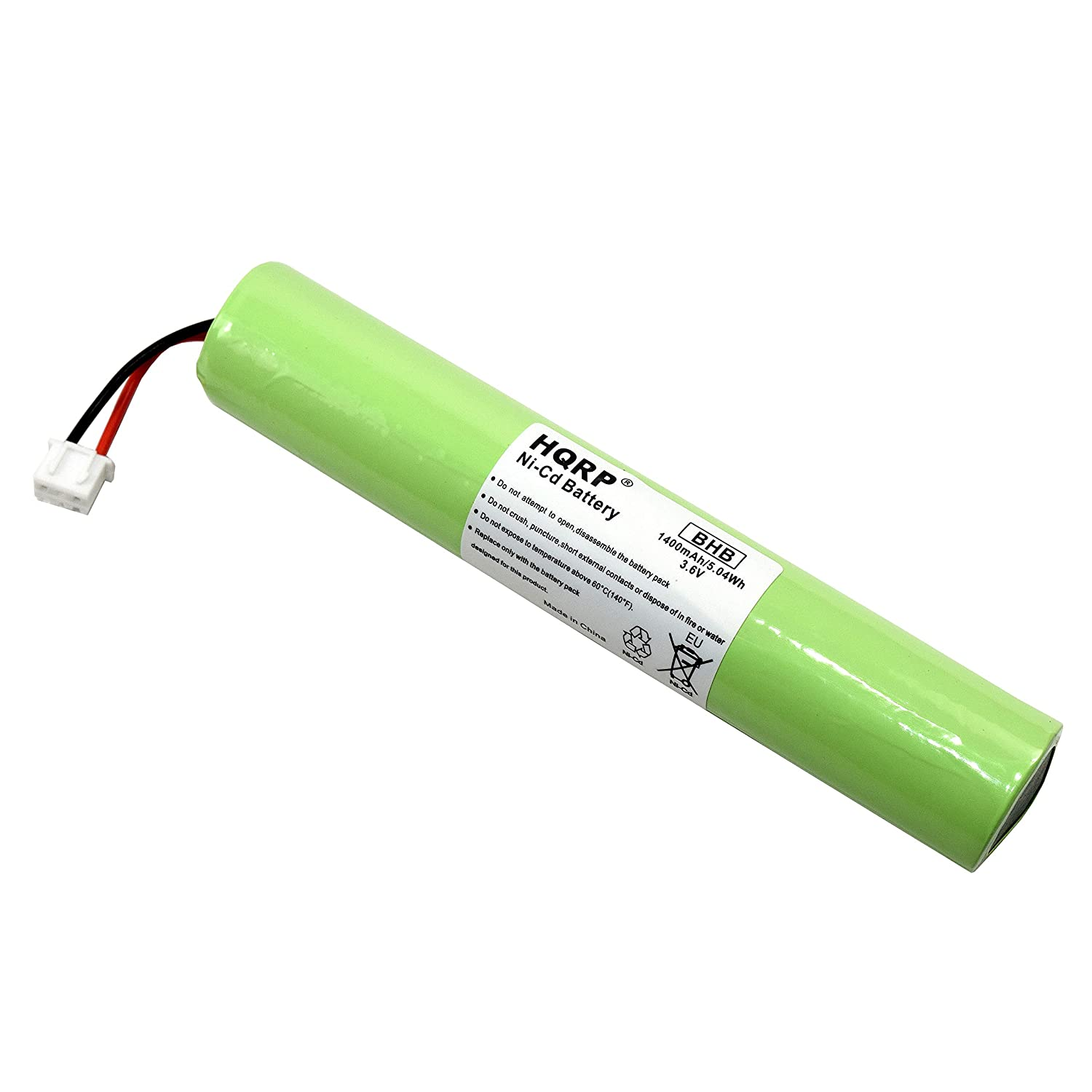 HQRP Battery for Hurricane Spin Scrubber Brush Cleaner Mop Spin-Scrubber Bathtub + Coaster 887774411051801
