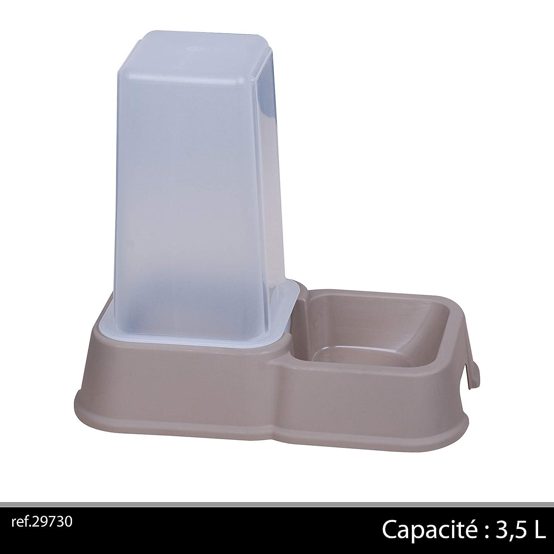 Distributeur de croquettes, 3,5 l gris Fornord 29730