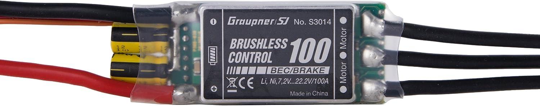Graupner Brushless Control + T 100 G6 ESC HoTT