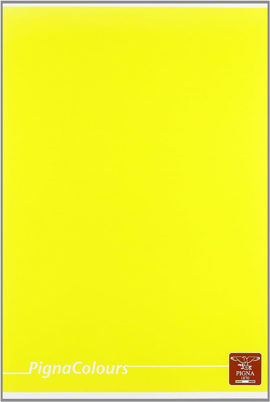 Carta 80g//mq Rigatura 0B righe per 3/° elementare Quaderno formato A4 Pigna Colours 02136420B Pacco da 10 Pezzi