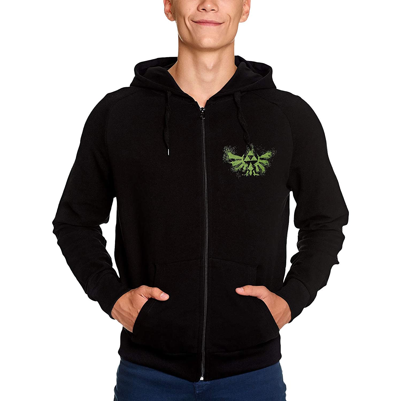 The Legend of Zelda Sweatshirt Splattered Zelda Logo Hoodie ...
