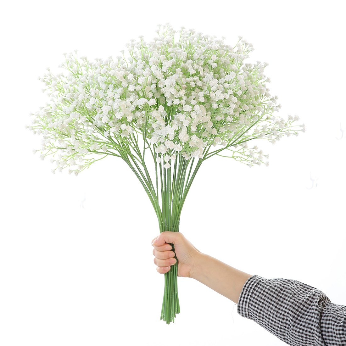 Justoyou Gypsophila Artificial Flowers Bouquets Fake Flowers For