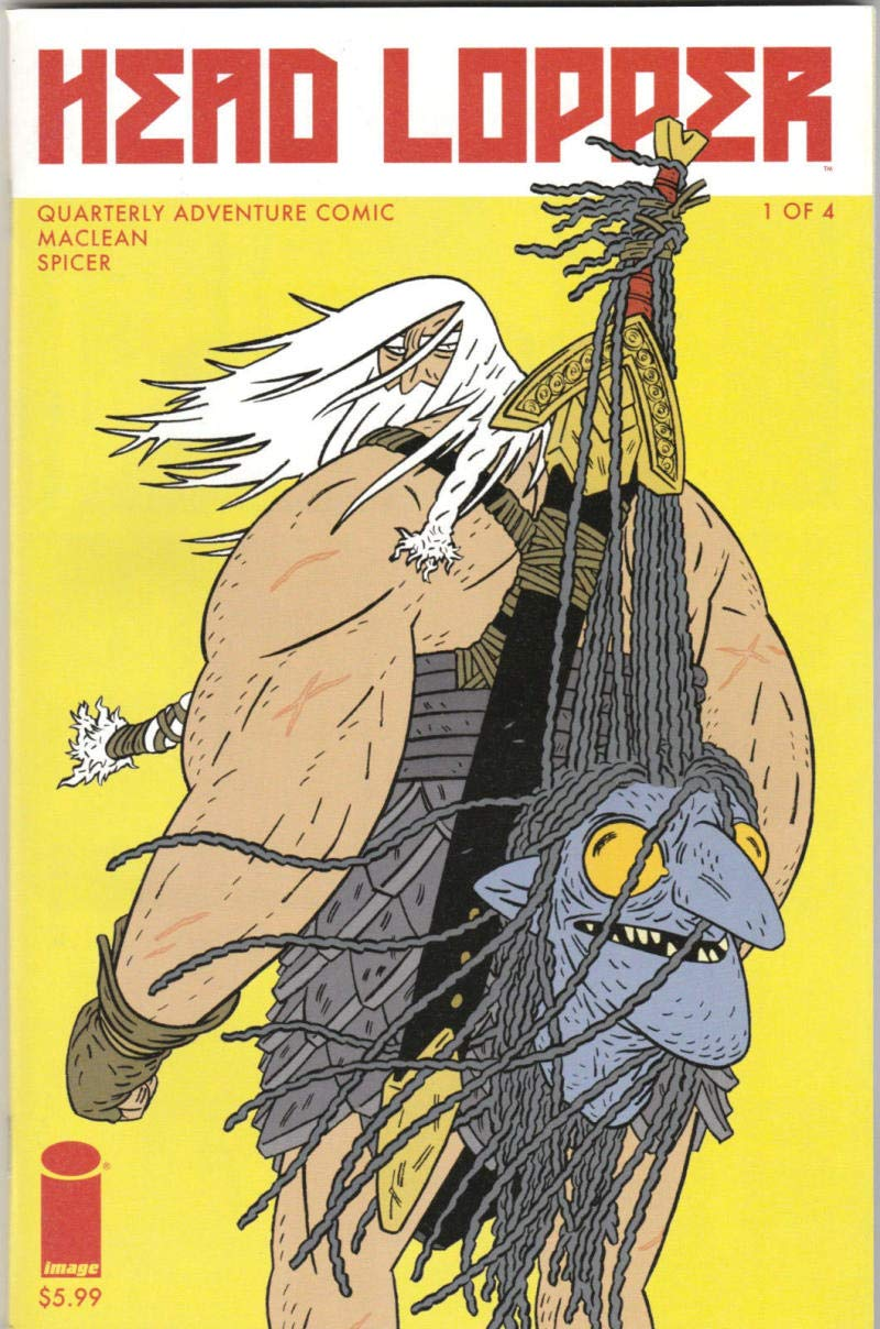 HEAD LOPPER #1, VF/NM, Andrew Maclean, Mark Spicer, 2015, Image