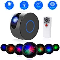 Star Night Light Projector, Sky Starry Galaxy Projector LED Nebula Cloud Light with Remote Control, 15 Lighting Modes for Game Rooms, Home Theatre, Children Kids Baby Adults Bedroom Party Dec-Grey
