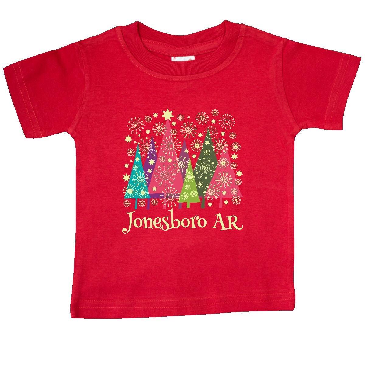 T shirt design jonesboro ar - Amazon Com Inktastic Baby Girls Jonesboro Arkansas Christmas Baby T Shirt Clothing
