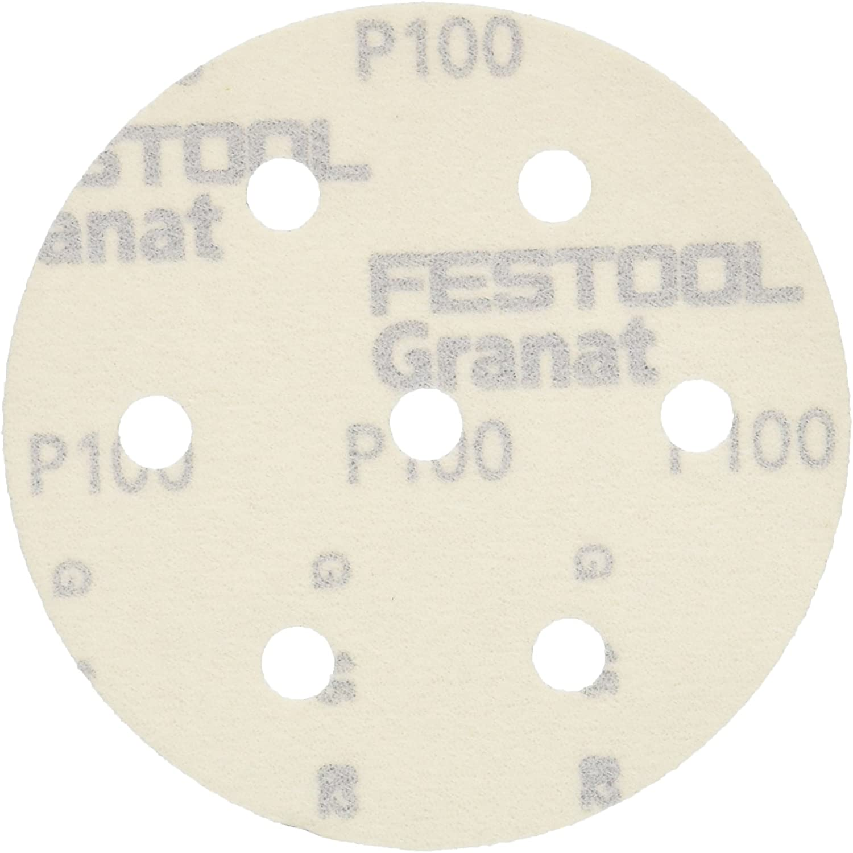 Festool Granat Mole abrasive StickFix STF D90//6 P60 //50St