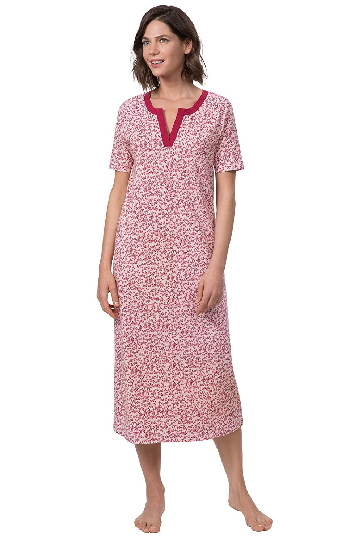 PajamaGram Women's Pajamas Cap Sleeve Ladies Nightgown GAMV06334