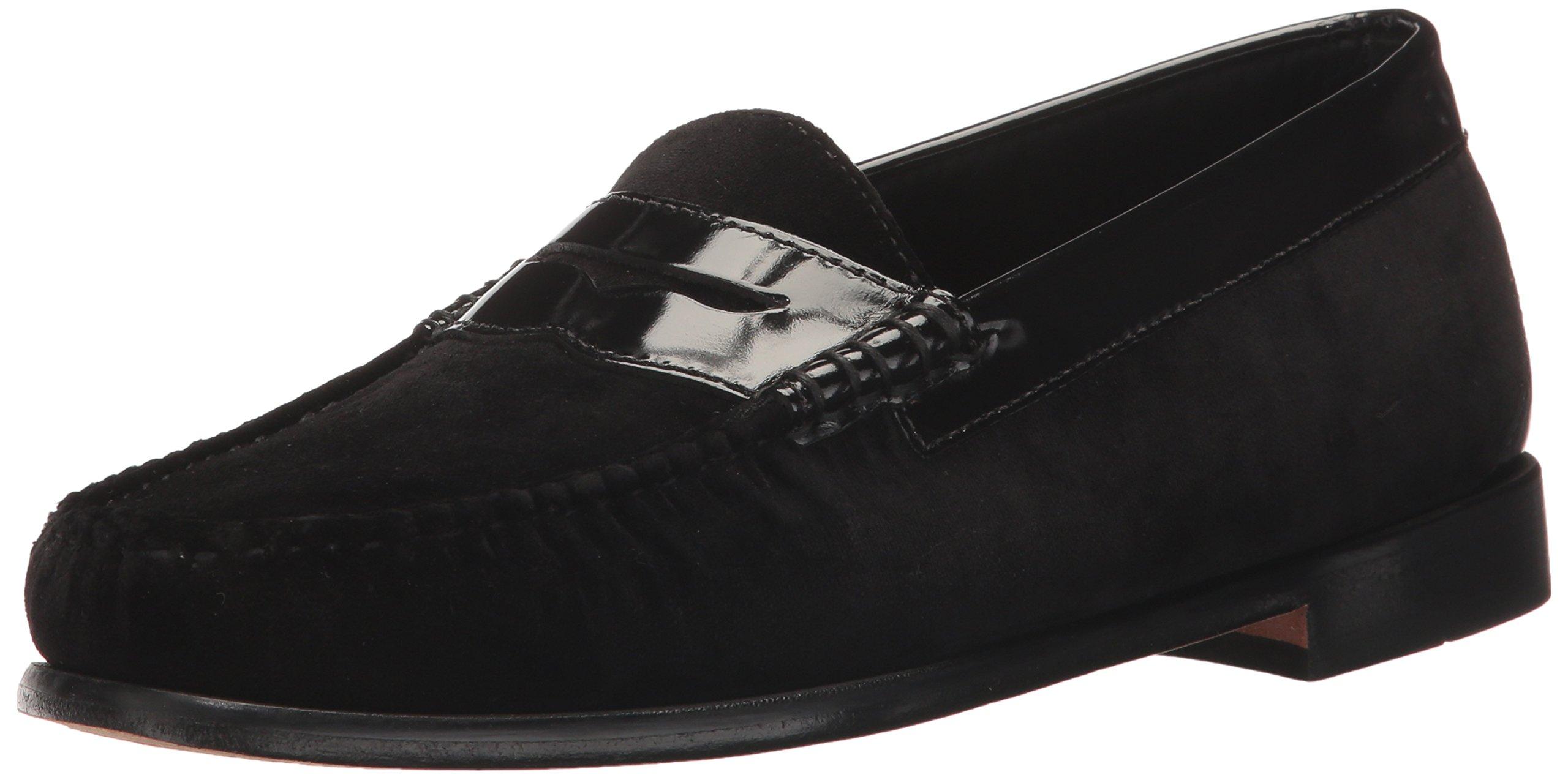 G.H. Bass & Co. Women's Whitney Penny Loafer, Black 914, 7.5 M US