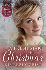 A Fresh Start for Christmas (Spinster Mail-Order Brides Book 14) Kindle Edition