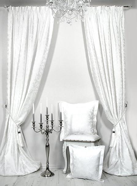 Trendoro Cortinas, blanco, 160 x 260 cm: Amazon.es: Hogar