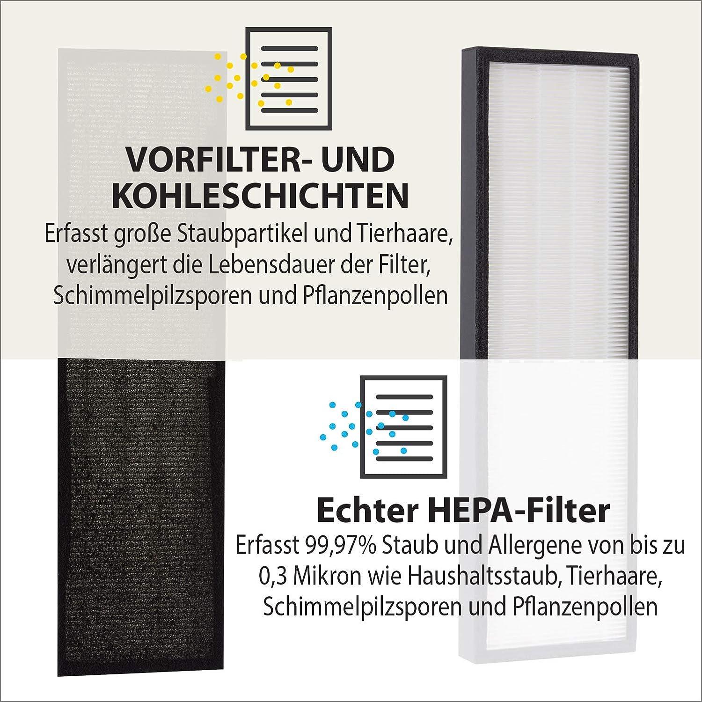 PureMate® PM 510 Reemplazo Hepa y filtro de carbón para ...