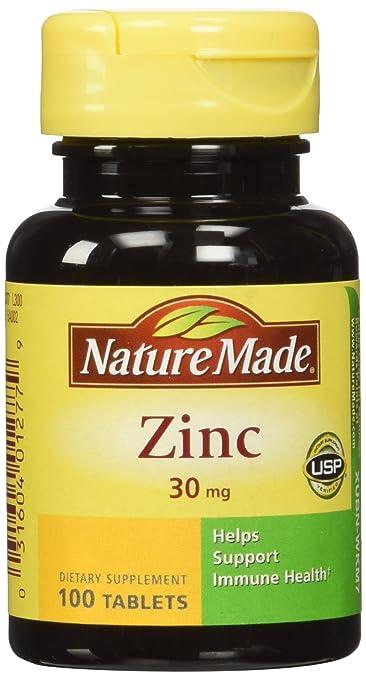 Nature Made Zinc Tabs 30 Mg 100 Ct