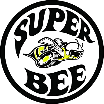 amazon com super bee decal 5 in the united states automotive rh amazon com super bee logo decals super bee logo wallpaper