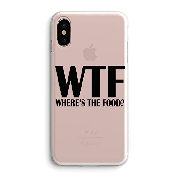 quality design 04d85 7a731 iPhone X/Xs Girls Cute Women Case,Trendy Life Attitude Funny Cute Hipster  Sassy Quotes Black WTF Where is The Food Funny Stuff for Teens Teenager ...