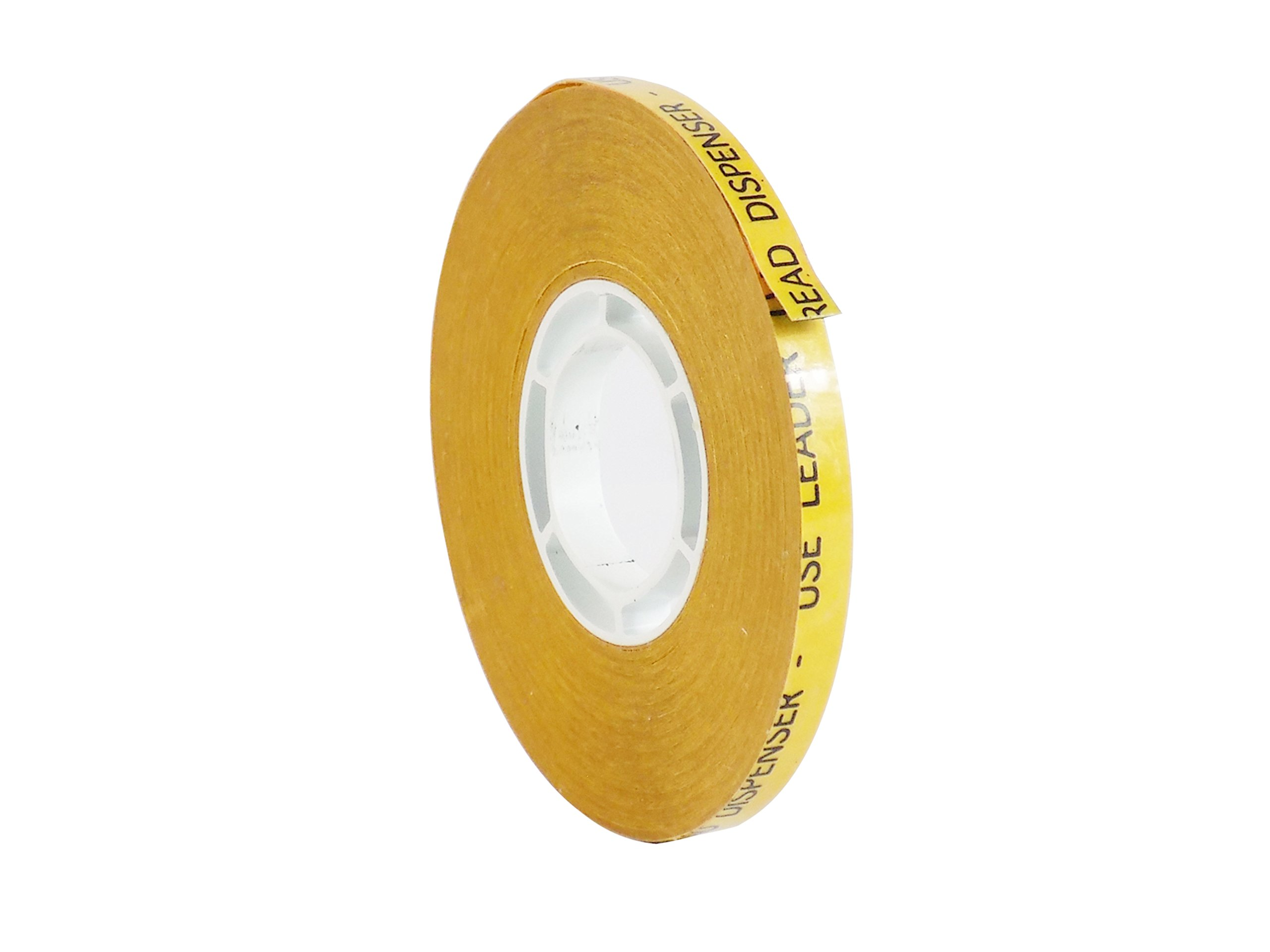 WOD ATG-7502 General Purpose ATG Tape, Adhesive Transfer Tape Glider Refill Rolls Clear Adhesive on Gold Liner (Acid Free and Available in Multiple Sizes): 1/4 in. Wide x 36 yds. (Pack of 144)