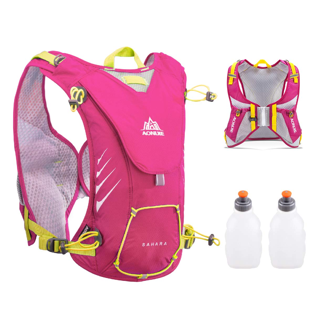 TRIWONDER 8L Hydration Vest for Outdoors Mochilas Trail Marathoner Running Race Hydration Pack Backpack fits Women Men Kids