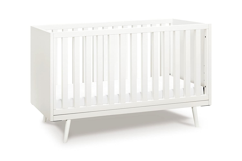 amazon com ubabub nifty timber 3 in 1 crib warm white baby