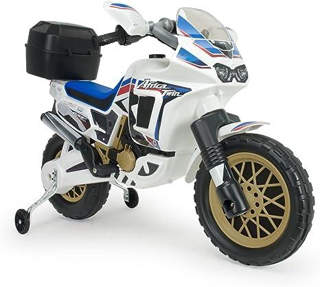 Injusa - Moto Honda Africa Twin eléctrica 6V para niños +3 años ...