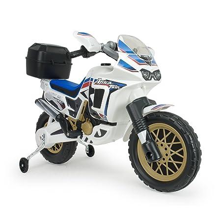 Injusa - Moto Honda Africa Twin eléctrica 6V para niños +3 ...