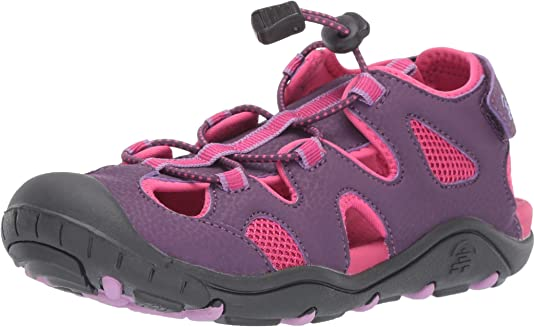 Kamik Girls' OYSTER2 Sandal Purple 11 M US Little Kid