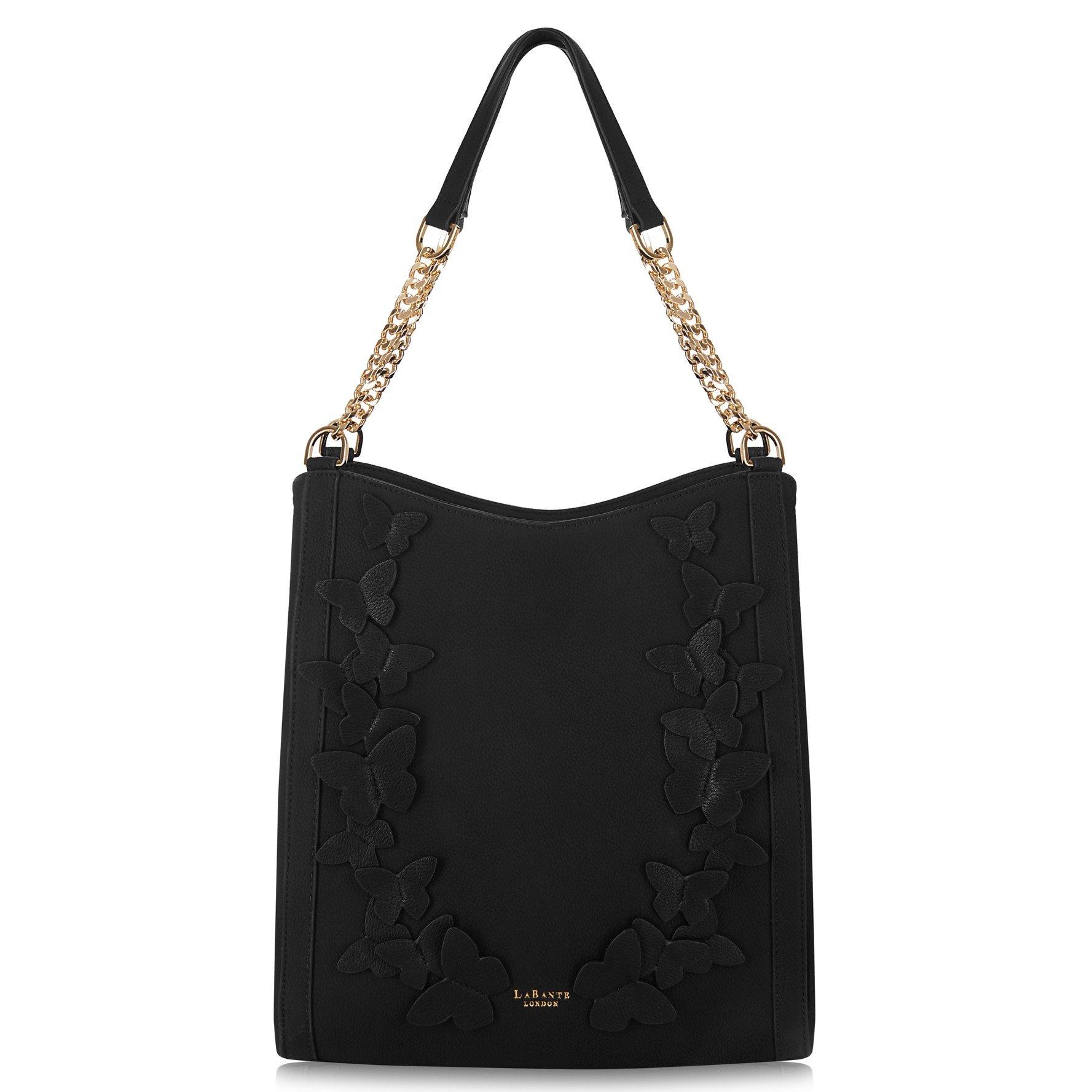 LaBante London 'Sylvaine' Vegan Leather Hobo Handbag for Women by LABANTE