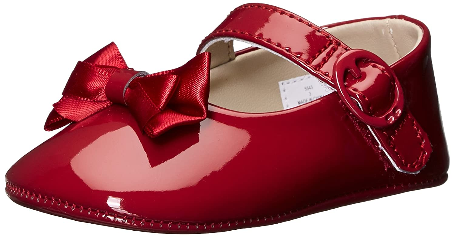 Baby Deer Kids' Patent SM with Bow Mary Jane-K