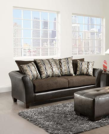 Amazon Com Used Sofas Couches Living Room Furniture >> Amazon Com Chelsea Home Furniture Eta Sofa Jefferson