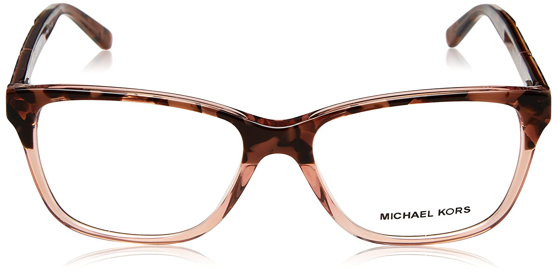 38488829b8 Eyeglasses Michael Kors MK 4044 3251 PINK TORT GRAPHIC at Amazon Men s  Clothing store