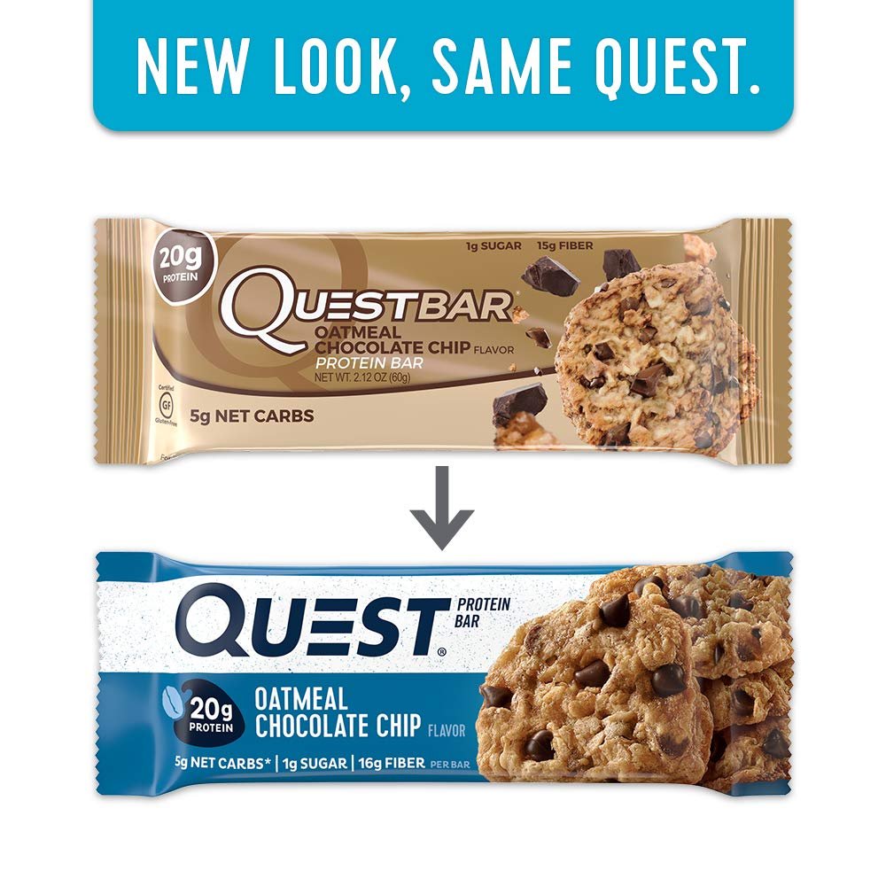 Quest Bar Oatmeal Chocolate Chip Amazon