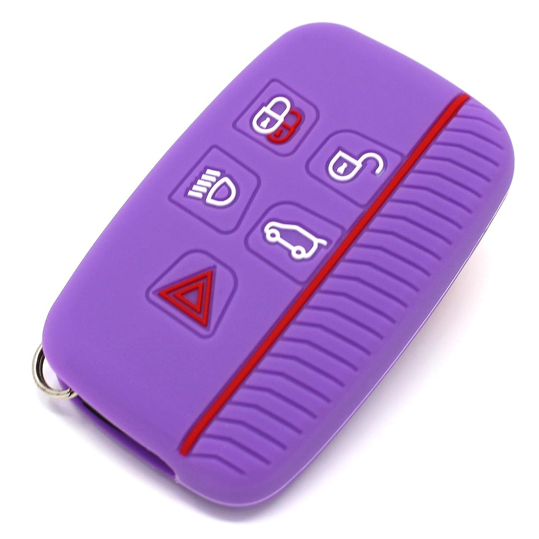 Finest-Folia, custodia portachiavi LA in silicone per le chiavi dell' auto, con 5 pulsanti .Schwarz Blau custodia portachiavi LA in silicone per le chiavi dell' auto Finest-Folia GmbH
