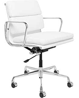 eames reproduction office chair. SOHO Premier Soft Pad Management Chair (Soft Pad, White) Eames Reproduction Office
