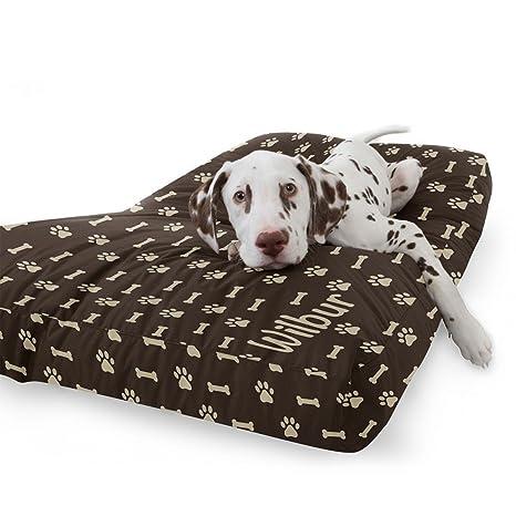 rucomfy Bean bags - Cama para Perro, de Ante sintético, 75 cm x 60