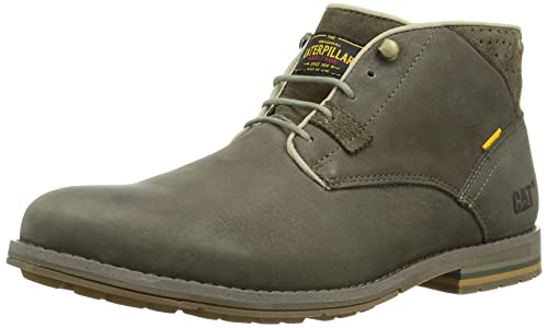 Cat Collins Mid, Men Warm Lining Ankle Boots, Brown (Snare), 12