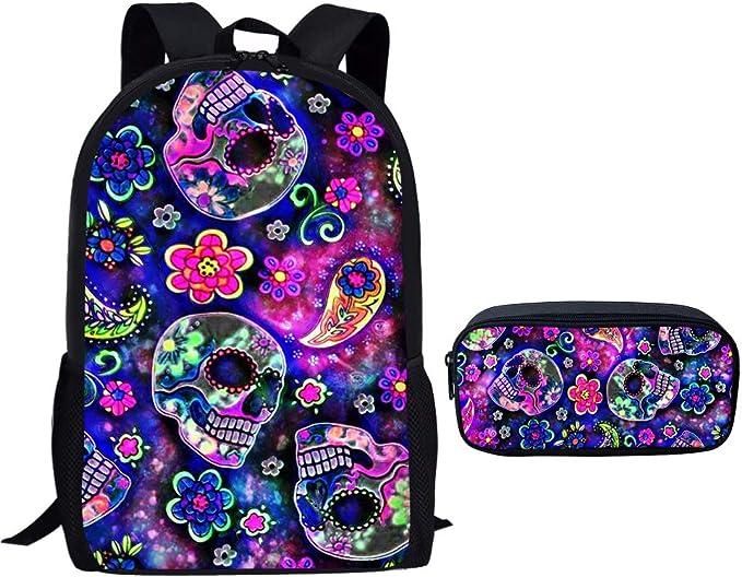 Acheter sac à dos école enfant tete de mort online 5