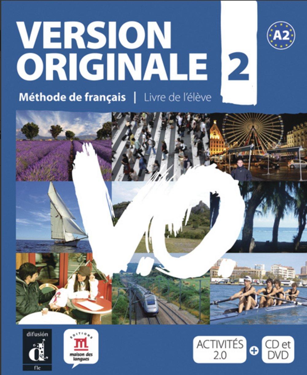 Version originale A2: Méthode de français. Kursbuch mit Audio-CD + DVD