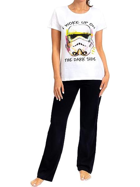 Star Wars Pijama para Mujer La Guerra de Las Galaxias: Amazon ...