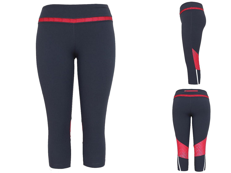 Tangerine Ladies Active Capri Pants