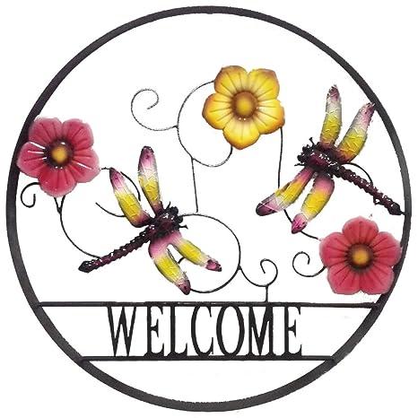 Amazon.com : Backyard Expressions 906676 Decorative Outdoor Flower ...