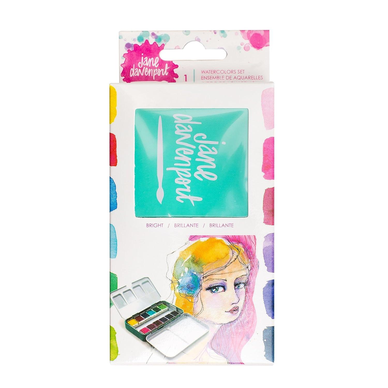 Amazon.com: Jane Davenport Petite Palette Brights Mixed Media