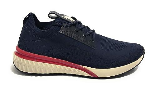 U.s. polo assn. FELIX4118S9/T1 Zapatos Hombre Azul 44: Amazon.es ...