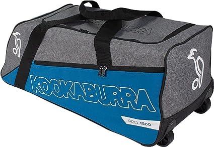 0babbf731378 Amazon.com   Kookaburra Pro 1500 Wheelie Cricket Bag Teal Usa Seller ...