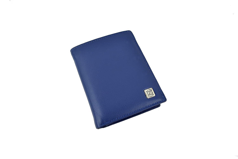 d5f2da494 Zerimar Cartera Cuerpos Seguridad | Portaplaca Desmontable | 5  Compartimentos | Cartera Portaplaca | Color: Azul Marino | Medidas: 9 x  11,5 cm 20316426_azul ...