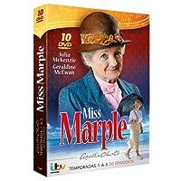 Pack Agatha Christie: Miss Marple ( Agatha Christie's Marple Season)  - Temporadas 1 A 5 [DVD]