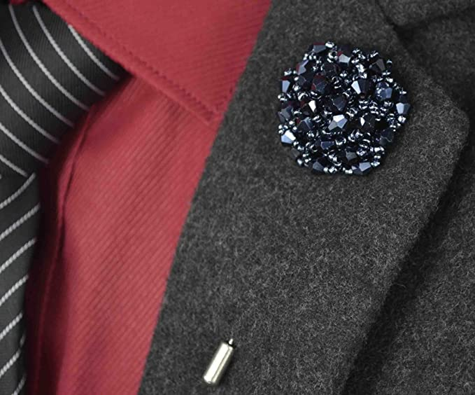 6 MODELS Chain Brooch Handmade Jacket Chain Brooch  Lapel Chain Pin   Men/'s Women/'s Jewellery Gifts Wedding Accessory Groomsmen